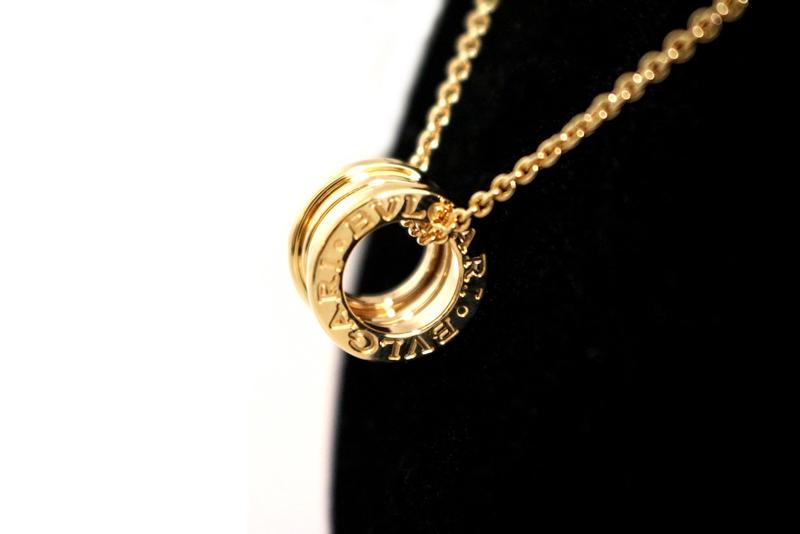 Bulgari bolt necklace