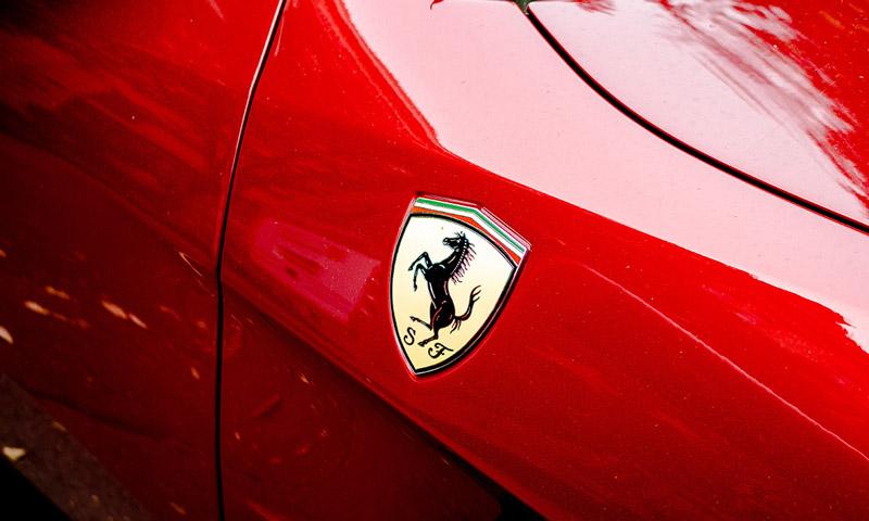 Ferrari prancing horse
