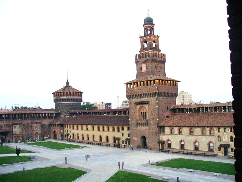 Castello Sforzesco of Milan