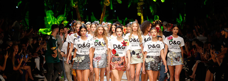 Dolce and Gabbana exotic style