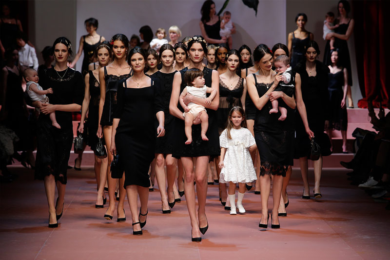 Dolce and Gabbana real women