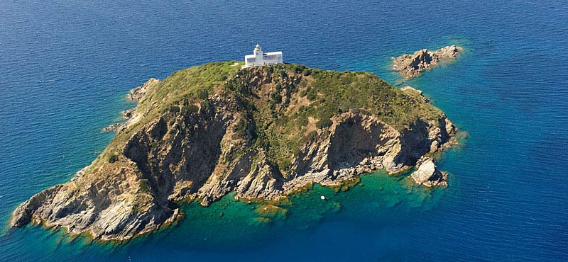 Tuscan archipelago islands