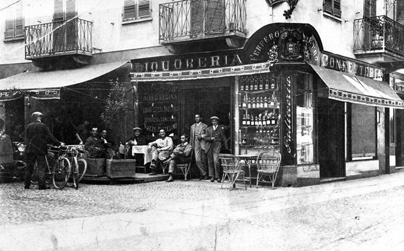 first ferrero pastry
