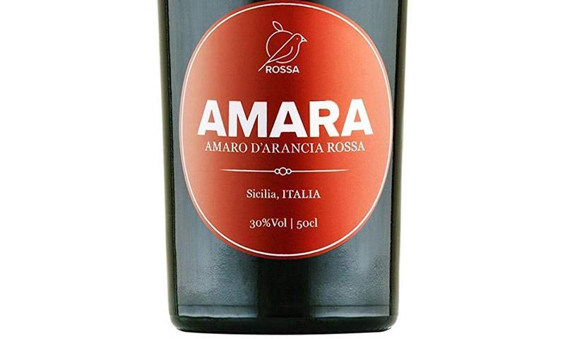 Amaro Amara Rossa Di Sicilia