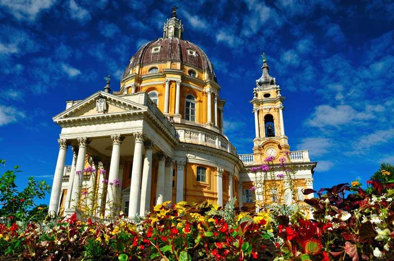 La Basílica de Superga en Turín