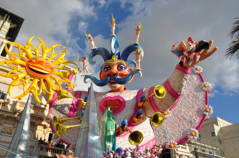Carnival allegorical float