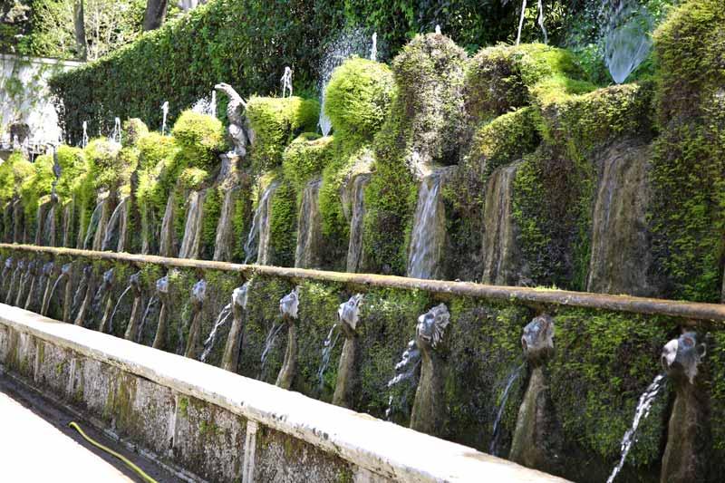 cento fontane villa d'este