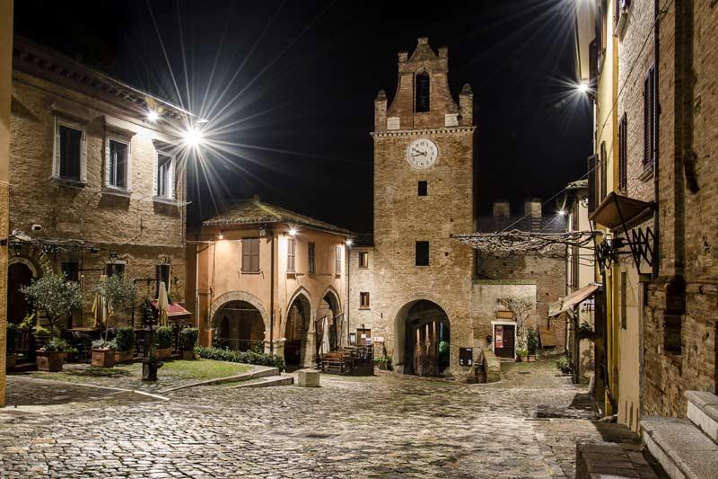 centro storico gradara