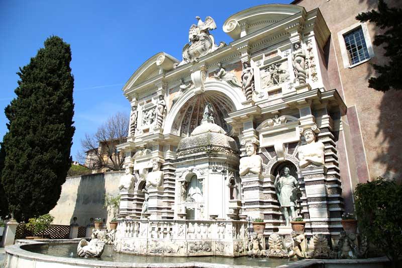 fontana dell'organo villa d'este