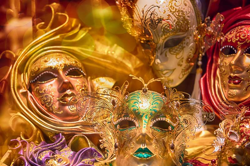 Masks of the Venice Carnival