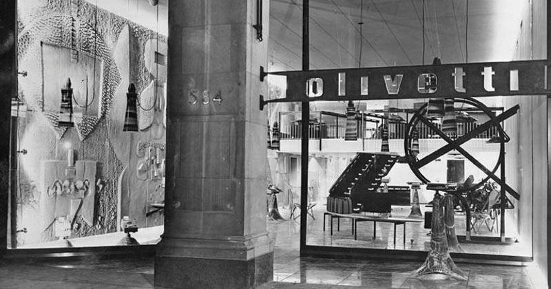 Negozio Olivetti