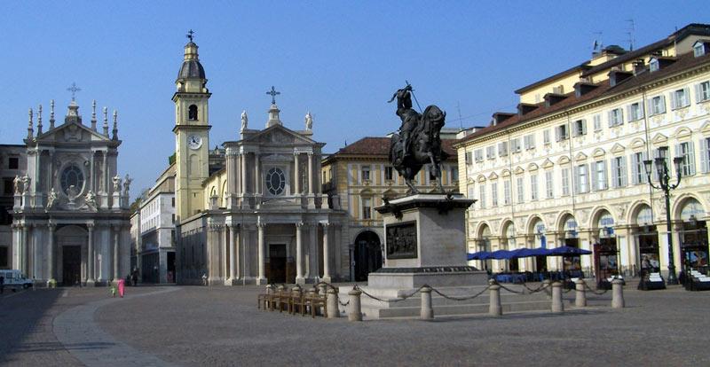 Piazza San Carlo Turín