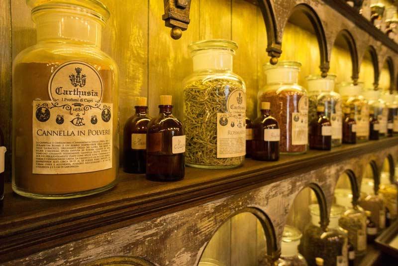 Perfumes Carthusia Capri