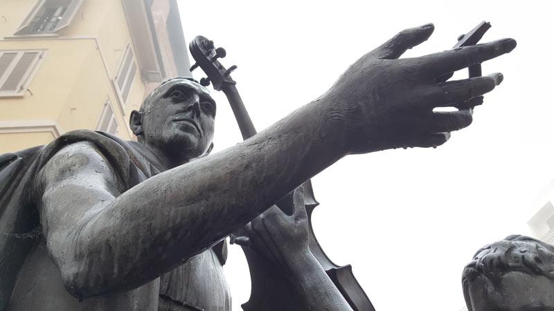 Statua Stradivari