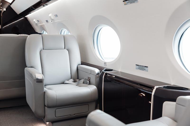 Italian private jet