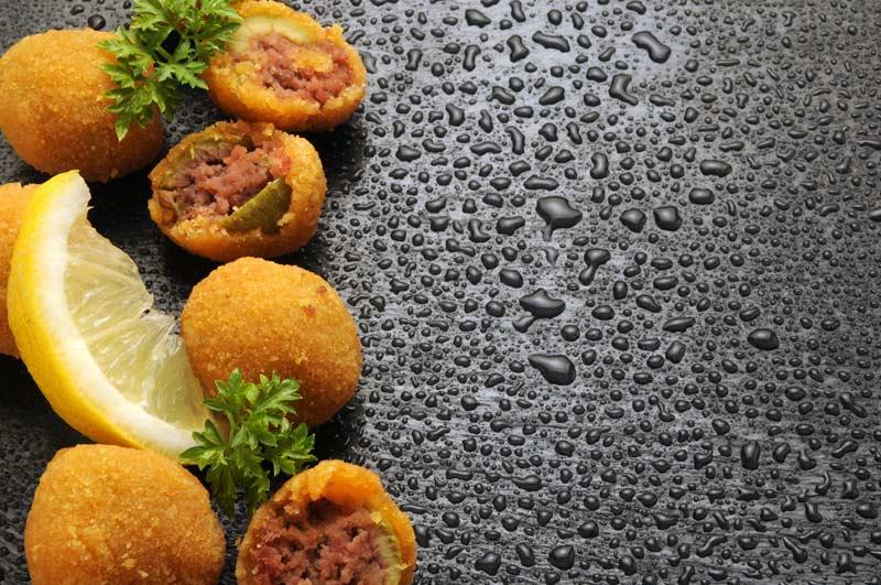 olive ascolana e limone