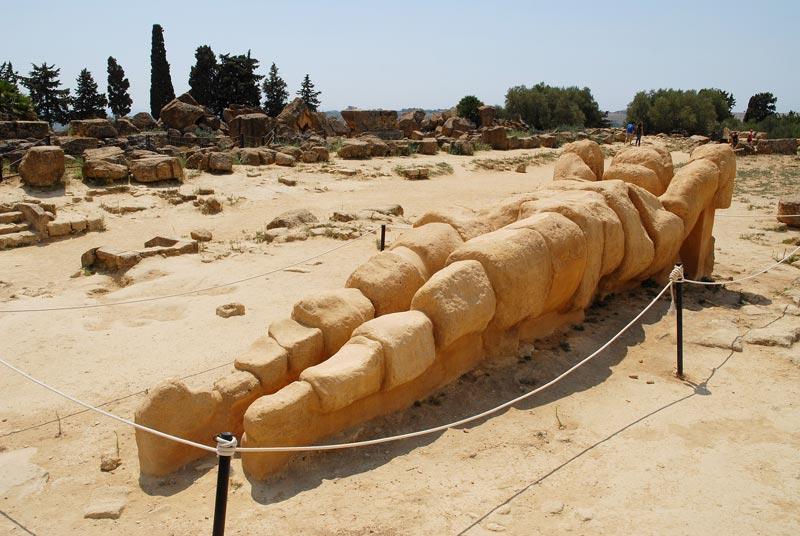 il tempio di giove olimpio