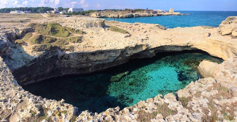 Grotta della Poesia – Roca Vecchia – Lecce