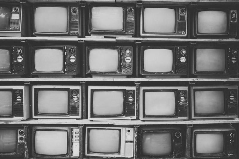 TV in bianco e nero