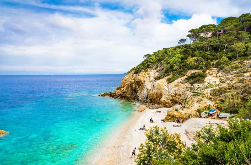 Spiaggia di Sansone, Isola d'Elba