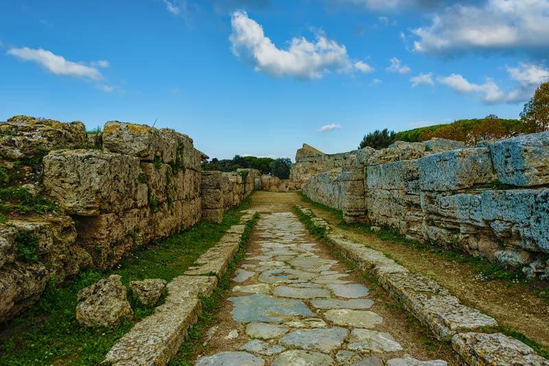 Le case Paestum