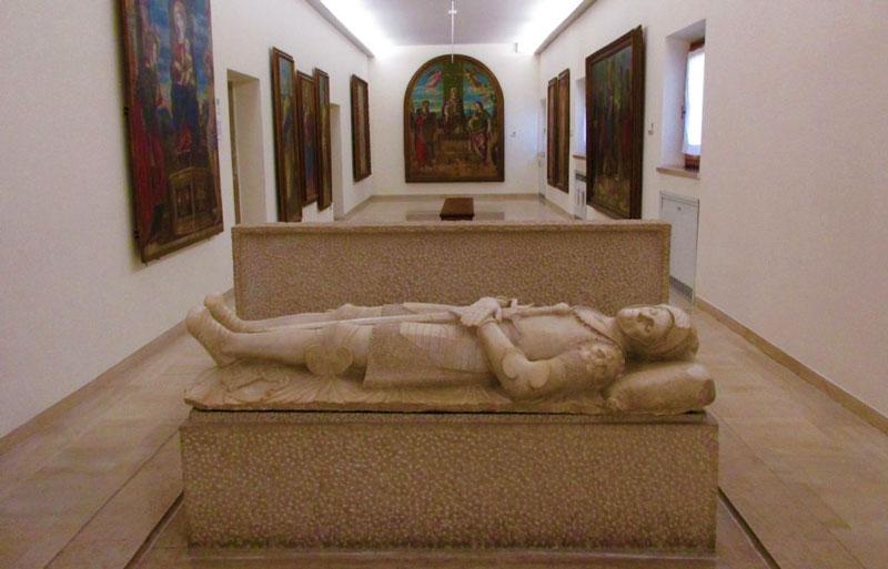 La statua di Guidarello Guidarelli, Ravenna