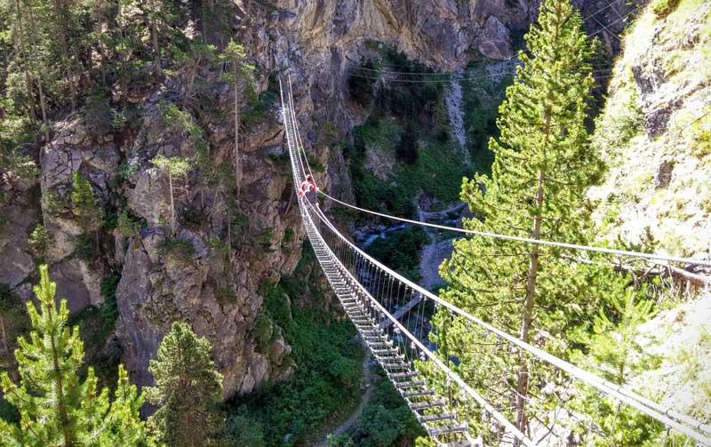 Ponte di Cesana Claviere- Piemonte
