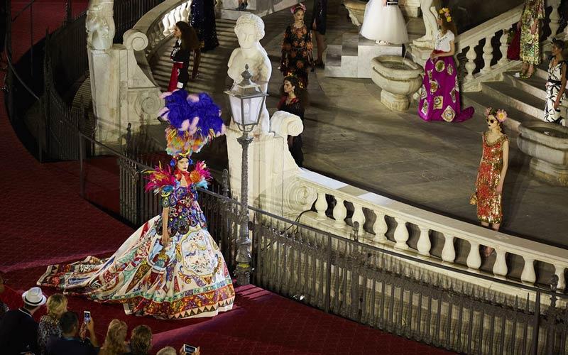 Sfilata Dolce&Gabbana - Palermo