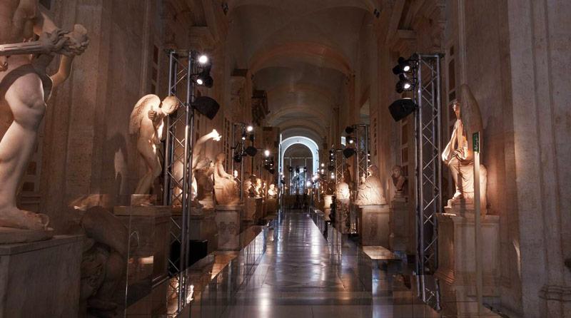 Sfilata Gucci - Musei Capitolini