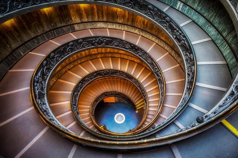 Scale del museo del vaticano