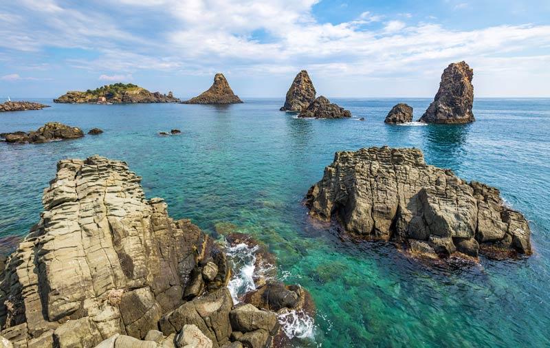 Riviera dei Ciclopi ad Aci Trezza- Sicilia