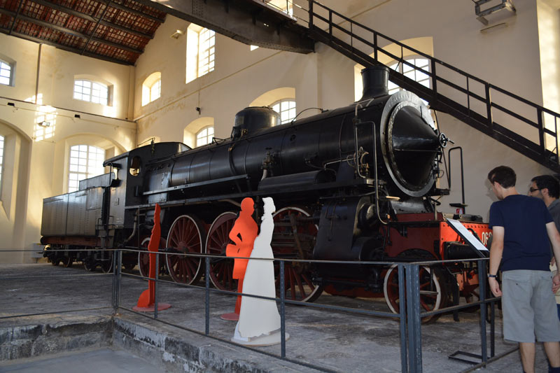 la ferrovia italiana in mostra