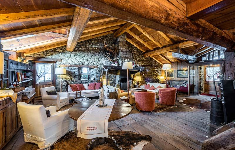 Chalet dell'Hotellerie de Mascognaz, Valle d'Aosta