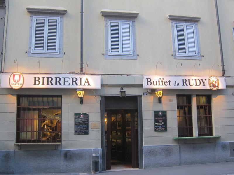 Birreria Buffet da Rudy
