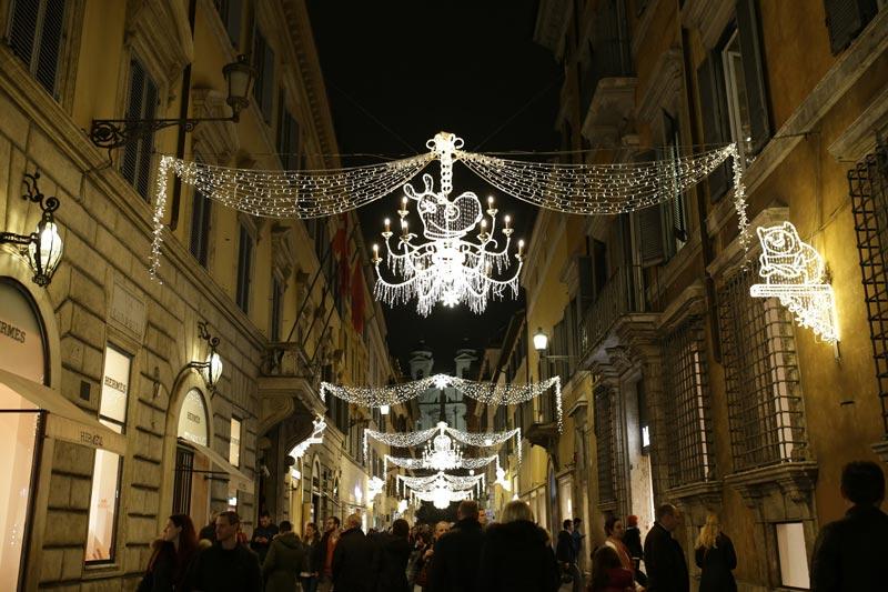 luminarie roma