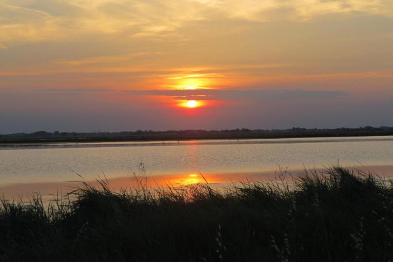 tramonto saline cervia