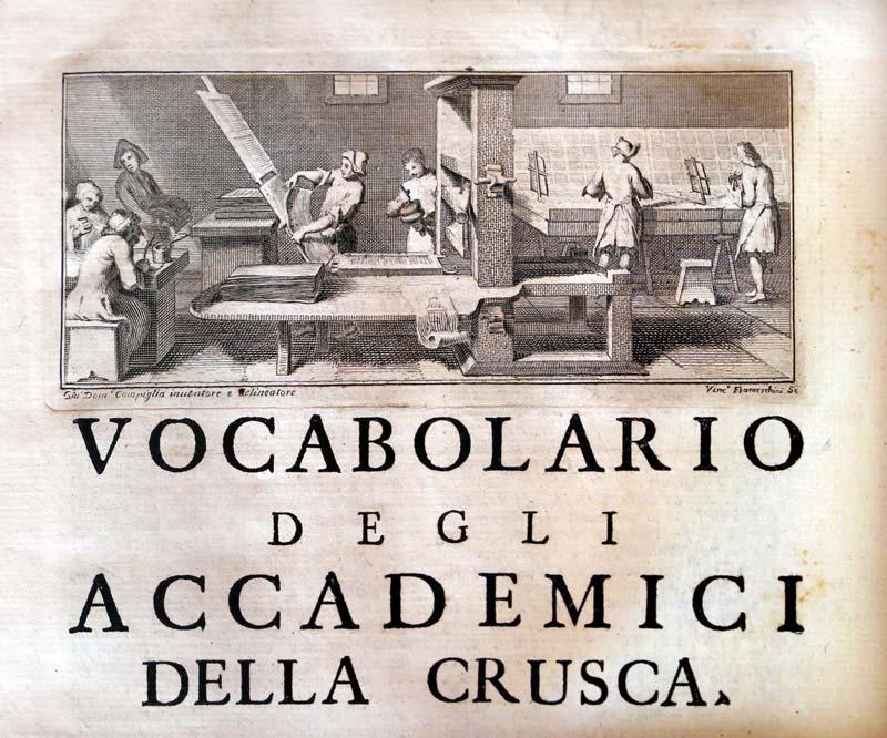 Vocabolario Accademia della Crusca