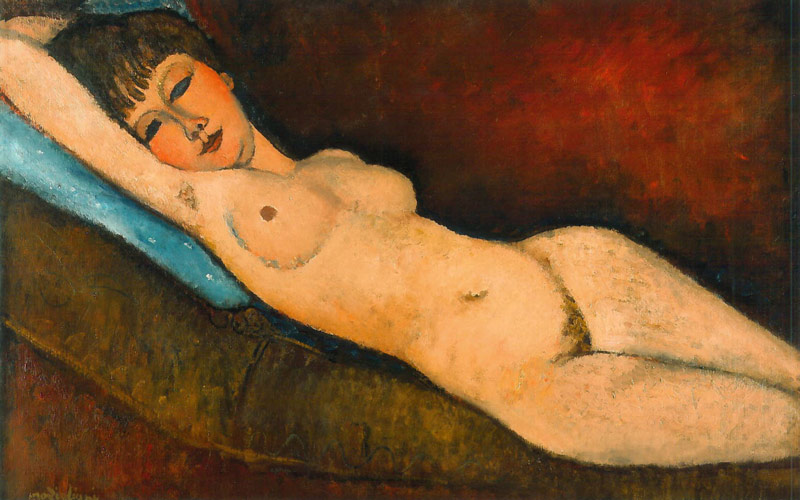 Nu couché Amedeo Modigliani
