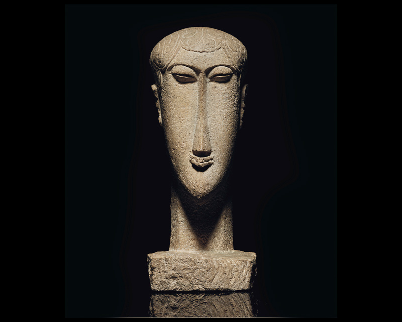Tête Amedeo Modigliani