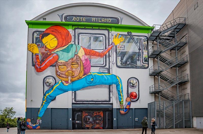 graffiti milano