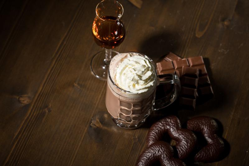 Cioccolata Calda al Rum