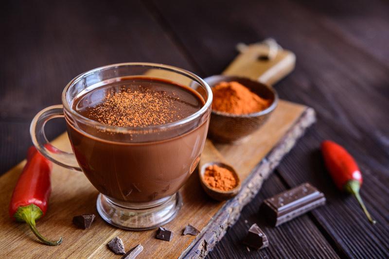 Cioccolata Calda con Peperoncino