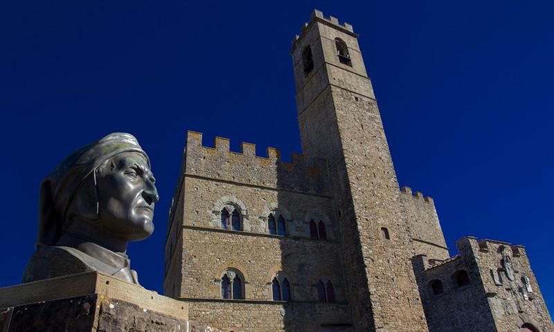 Poppi, il Castello dei Conti Gudi