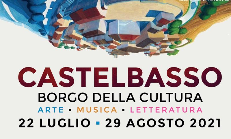 Locandina della manifestazione di Castelbasso 2021